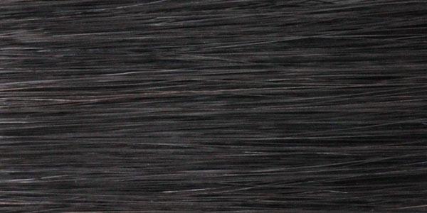 人毛MIXのカラー:ナチュラルブラックは真っ黒過ぎない自然な黒色です。