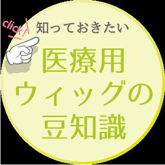 医療用ウィッグの豆知識へのリンクボタン